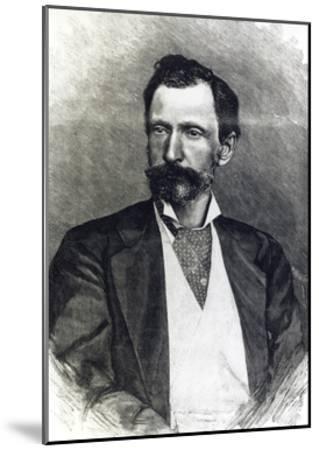 Portrait of Giuseppe Zanardelli--Mounted Giclee Print