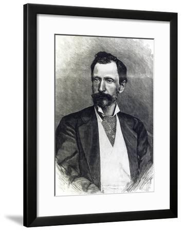 Portrait of Giuseppe Zanardelli--Framed Giclee Print