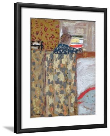 The Linen Cupboard, C.1893-95-Edouard Vuillard-Framed Giclee Print