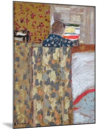 The Linen Cupboard, C.1893-95-Edouard Vuillard-Mounted Giclee Print