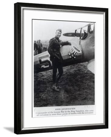 Edward Rickenbacker--Framed Photographic Print