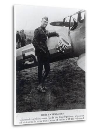 Edward Rickenbacker--Metal Print