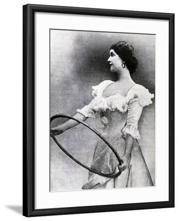 Portrait of Lina Cavalieri--Framed Giclee Print