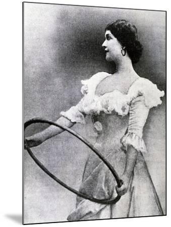 Portrait of Lina Cavalieri--Mounted Giclee Print