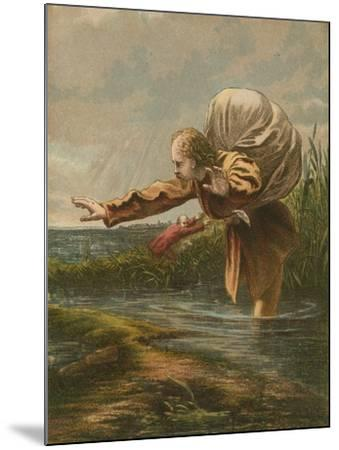 The Slough of Despond--Mounted Giclee Print