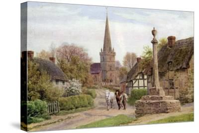 Childs Wickham, Near Evesham, Worcester-Alfred Robert Quinton-Stretched Canvas Print
