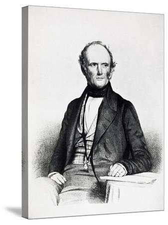 Portrait of Charles Lyell--Stretched Canvas Print