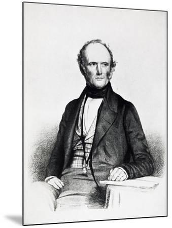 Portrait of Charles Lyell--Mounted Giclee Print