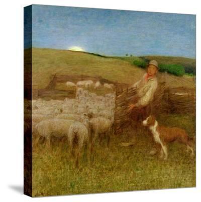 The Fold, C.1895-Edward Stott-Stretched Canvas Print