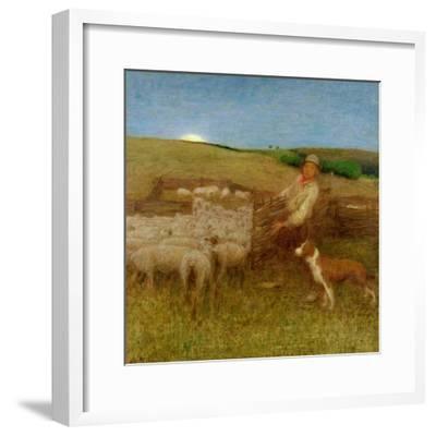 The Fold, C.1895-Edward Stott-Framed Giclee Print