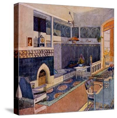 Drawing Room, Early C20th--Stretched Canvas Print