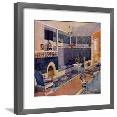 Drawing Room, Early C20th--Framed Giclee Print