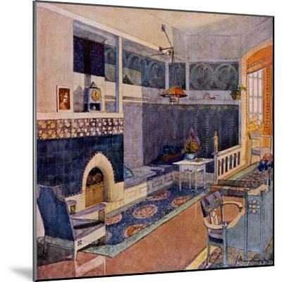 Drawing Room, Early C20th--Mounted Giclee Print