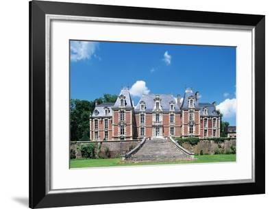 Facade, Chateau De Suzanne--Framed Giclee Print