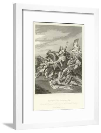 Battle of Tolbiacum-Alphonse Marie de Neuville-Framed Giclee Print