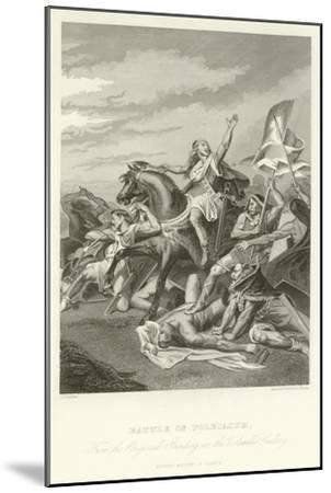 Battle of Tolbiacum-Alphonse Marie de Neuville-Mounted Giclee Print