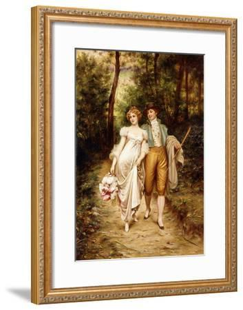 Courtship-Joseph Frederic Soulacroix-Framed Giclee Print
