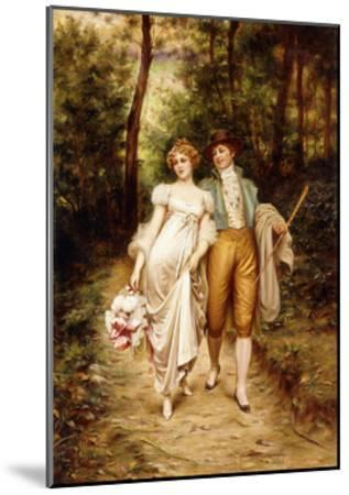 Courtship-Joseph Frederic Soulacroix-Mounted Giclee Print