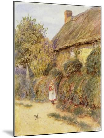 Straying-Helen Allingham-Mounted Giclee Print