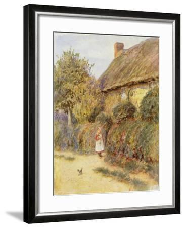Straying-Helen Allingham-Framed Giclee Print