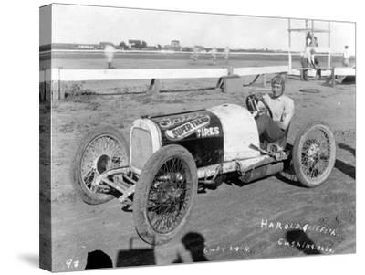 Harold Griffith, Cushing, Oklahoma, 1925--Stretched Canvas Print
