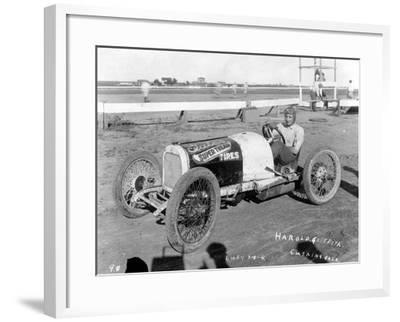 Harold Griffith, Cushing, Oklahoma, 1925--Framed Photographic Print