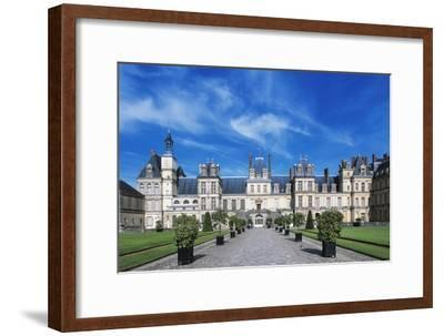 Palace of Fontainebleau--Framed Giclee Print