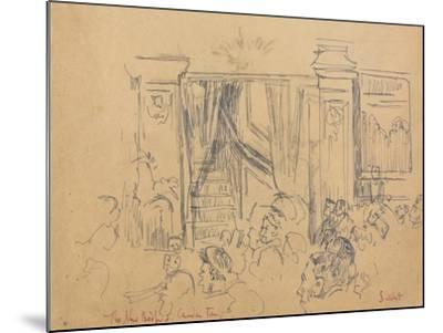 The New Bedford, Camden Town-Walter Richard Sickert-Mounted Giclee Print