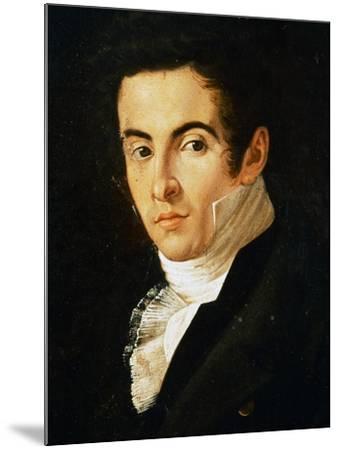 Portrait of Vincenzo Bellini--Mounted Giclee Print
