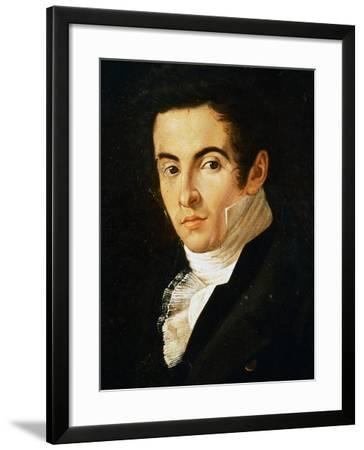 Portrait of Vincenzo Bellini--Framed Giclee Print