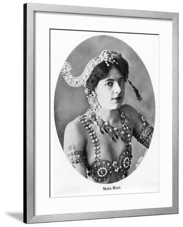 Mata Hari--Framed Photographic Print