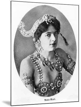 Mata Hari--Mounted Photographic Print