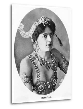 Mata Hari--Metal Print