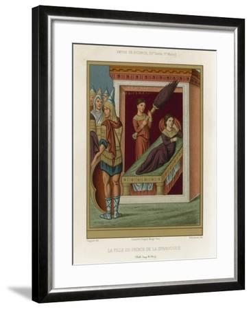 The Daughter of the Prince of the Synagogue--Framed Giclee Print