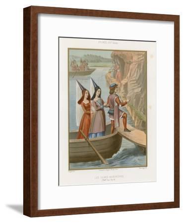 Lady Sailors--Framed Giclee Print