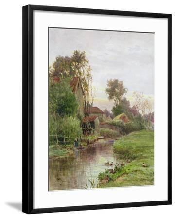 The Mill Stream-James George Bingley-Framed Giclee Print