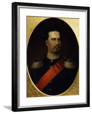 Portrait of Ludwig II--Framed Giclee Print