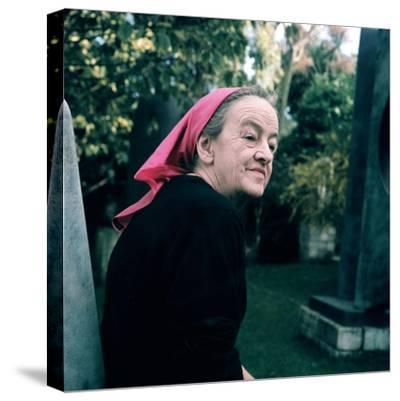 Portrait of Dame Barbara Hepworth--Stretched Canvas Print