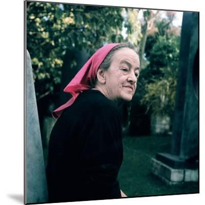 Portrait of Dame Barbara Hepworth--Mounted Giclee Print