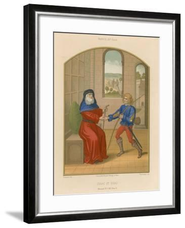 Isaac and Esau--Framed Giclee Print