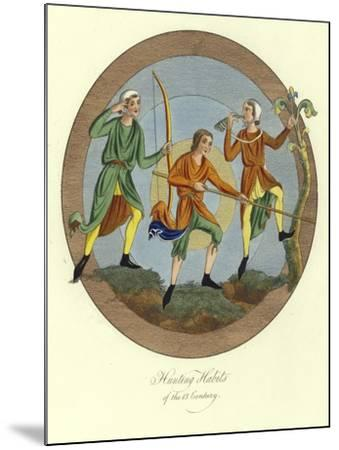 Hunting Habits of the 13th Century--Mounted Giclee Print