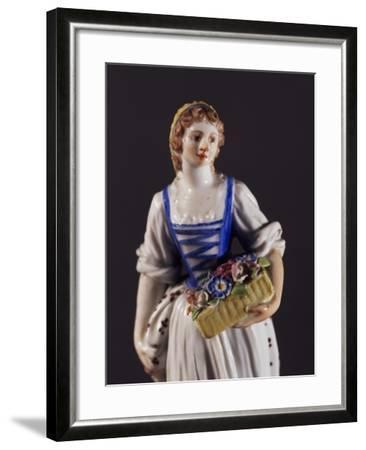 Figure of a Jardiniere--Framed Giclee Print