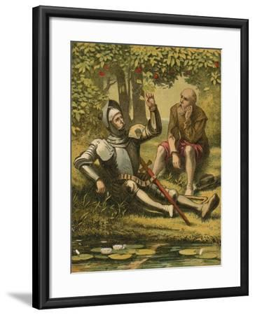 The River of the Water of Life--Framed Giclee Print