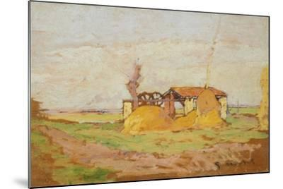 Pump Machine, 1910-1920-Guglielmo Micheli-Mounted Giclee Print