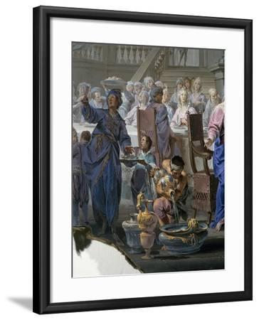 Marriage at Cana-Vittorio Maria Bigari-Framed Giclee Print