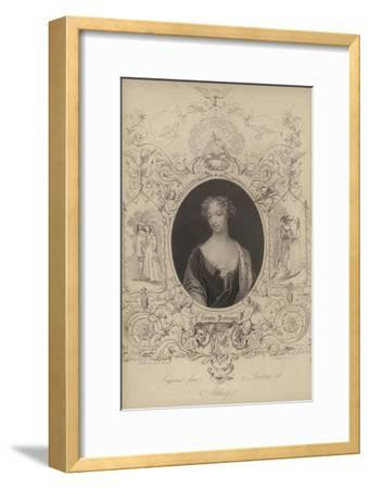 Frances Jennings--Framed Giclee Print