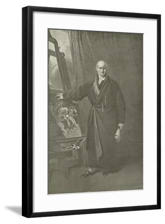 Benjamin West, President of the Royal Academy-Thomas Lawrence-Framed Giclee Print