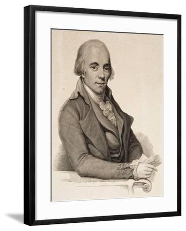 Portrait of Muzio Clementi--Framed Giclee Print