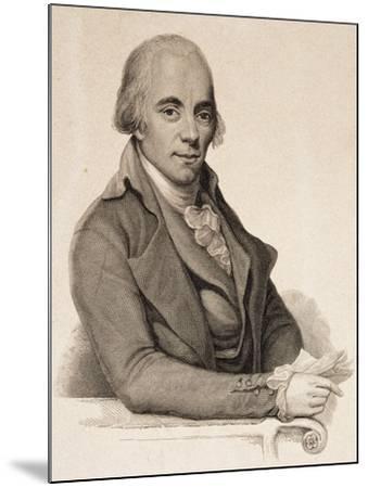 Portrait of Muzio Clementi--Mounted Giclee Print