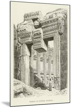Temple of Jupiter, Palmyra--Mounted Giclee Print